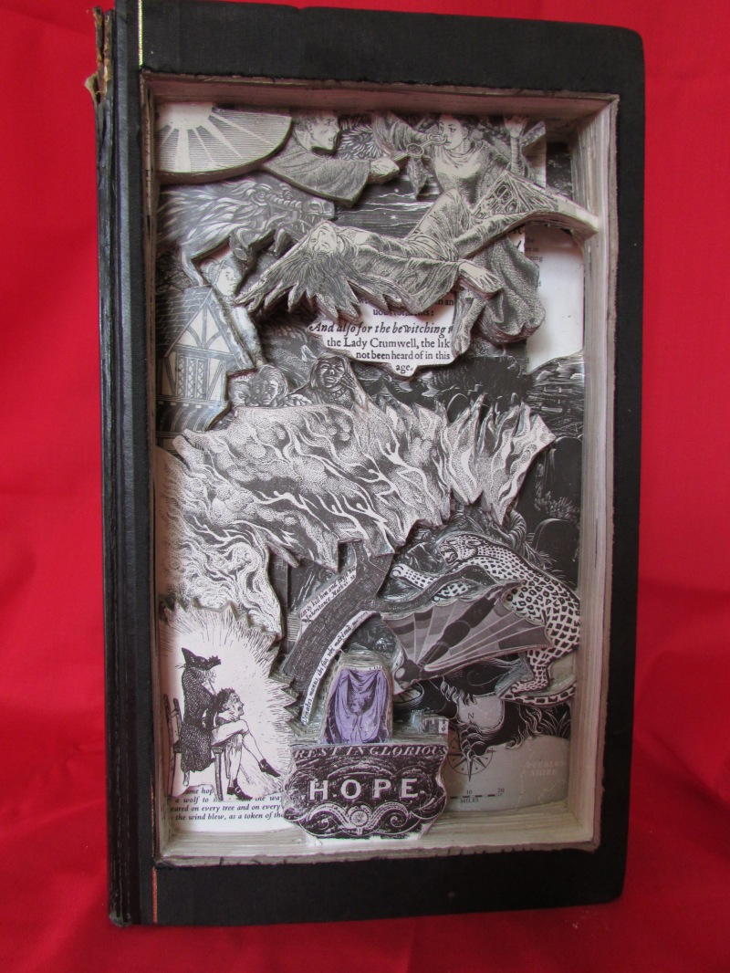 Readers Digest Folklore Myths and Legends Book Sculpture