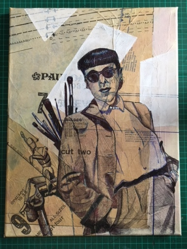 Edith Head Dress Pattern Portrait