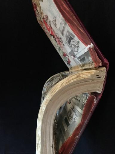 Curved Book Sculpture
